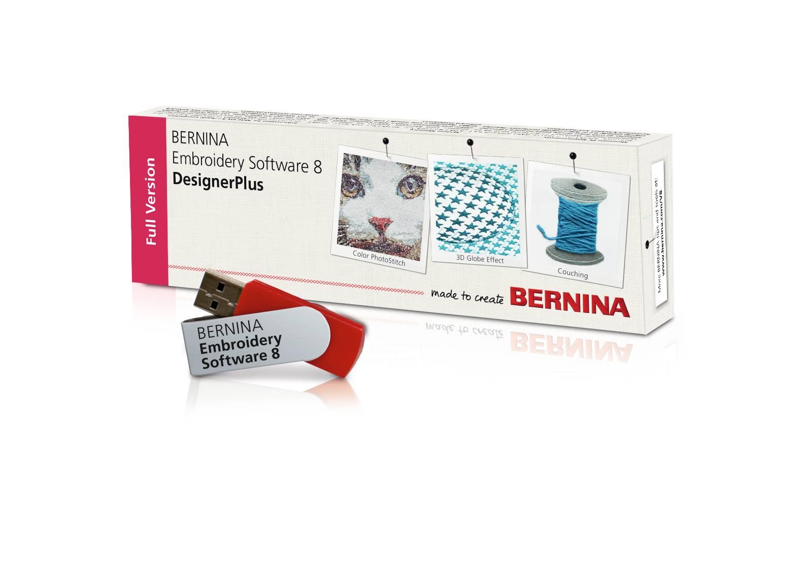 Bernina Sticksoftware DesignerPlus Version 8 - Software - Nähcenter ...