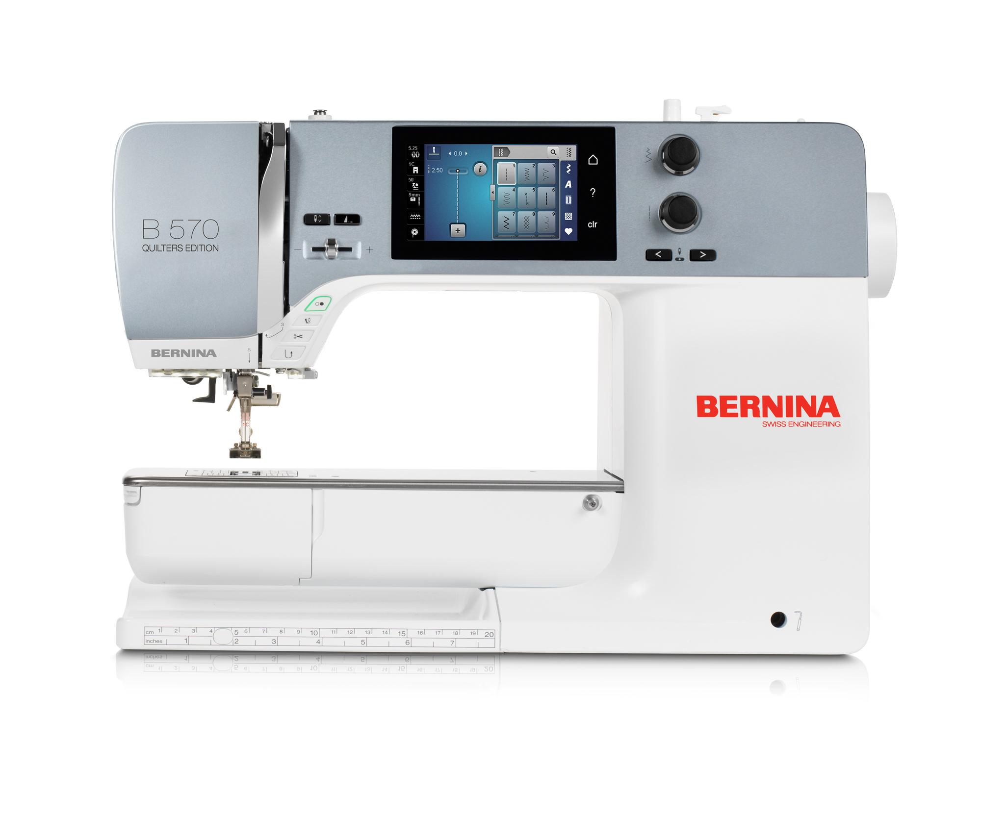 Nähmaschine Bernina 570QE - Nähen, Quilten & Sticken - Nähcenter ...